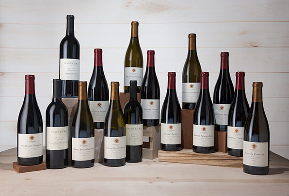 Grouping of Hartford Wines