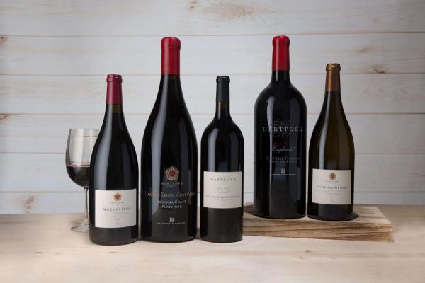 Winery exclusive bottles including large format bottles